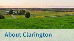 View our About Clarington page